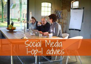 Linking, Social Media 1-op-1 advies