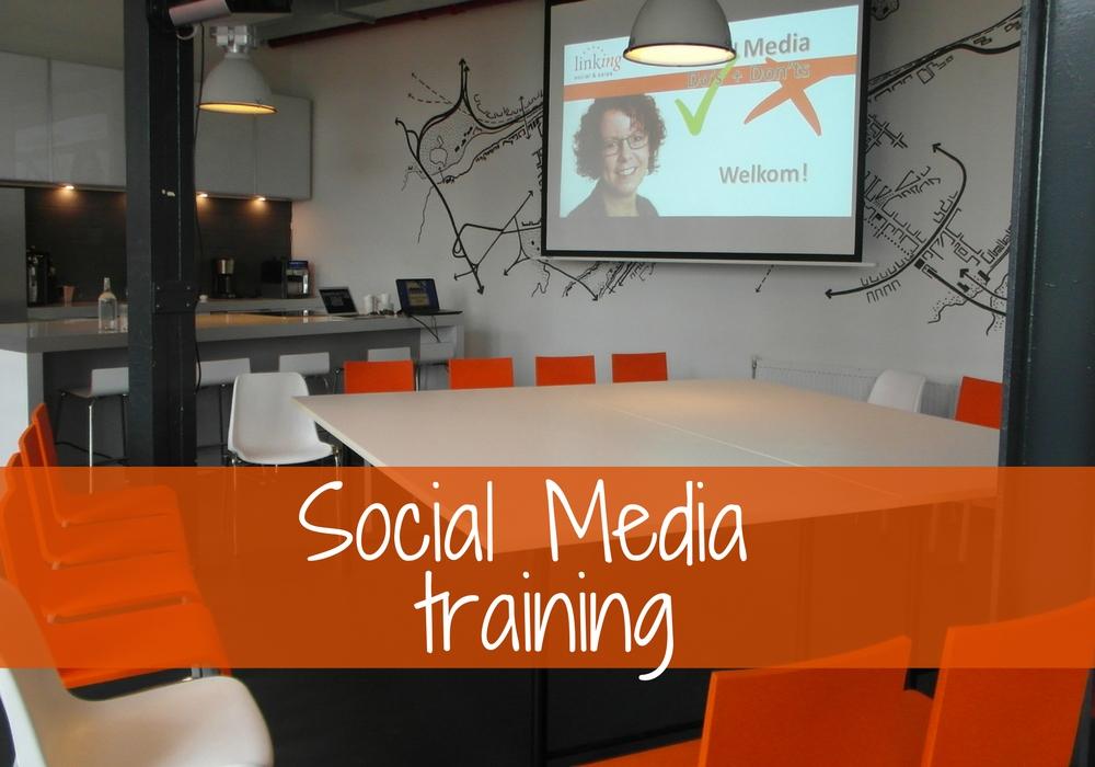Linking, Social Media training