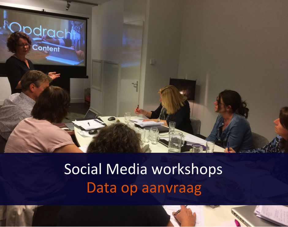 Social media workshop, training